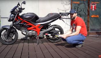 Ile kosztuje serwis motocykla? Suzuki Gladius – wycena, robocizna, części [film]